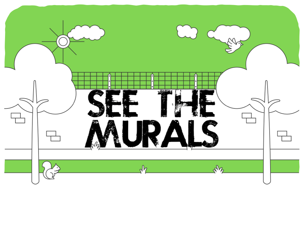 See the murals